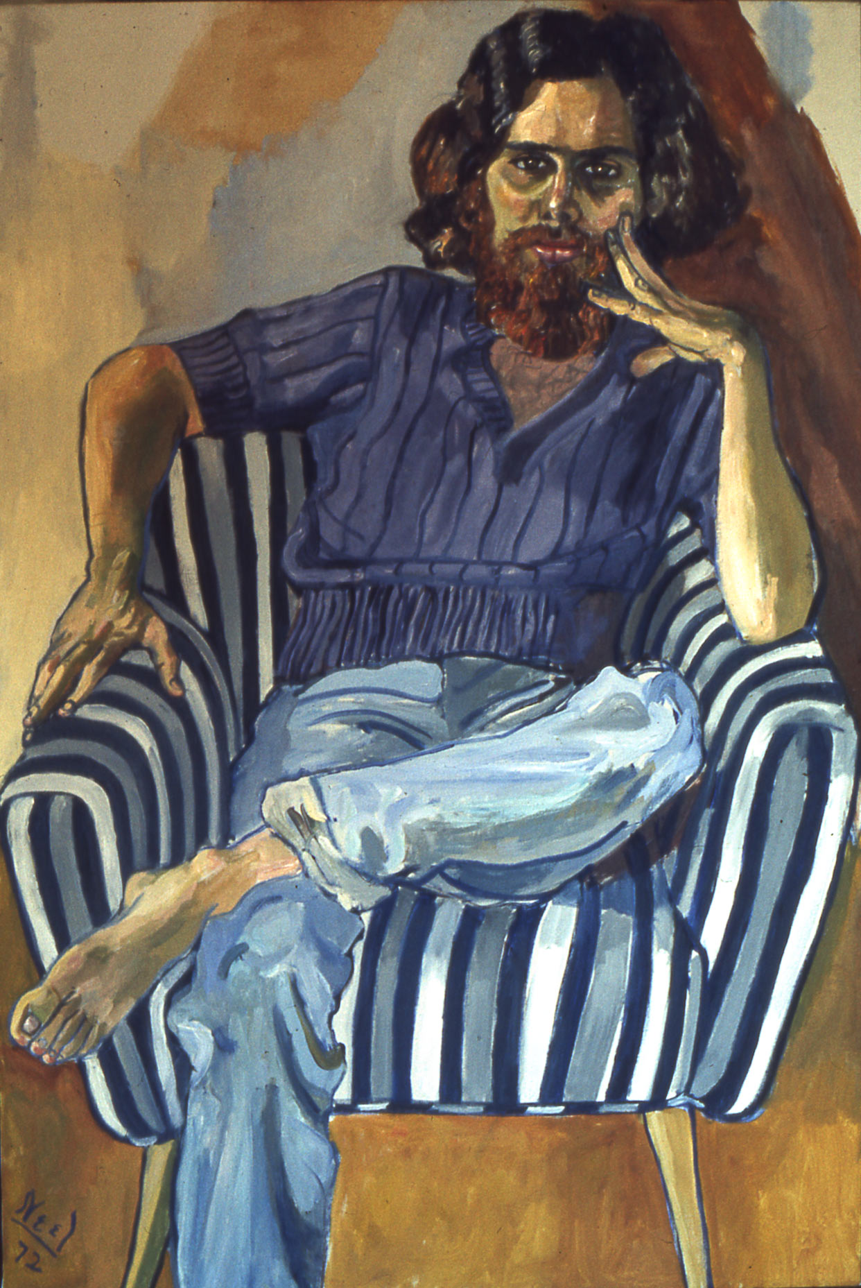 Dana Gordon by Alice Neel 1972